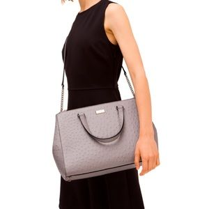 ♠️KATE SPADE Gorgeous Embossed Leather Satchel